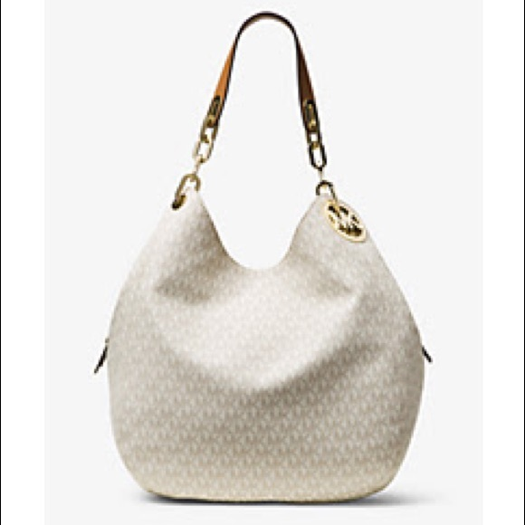 b2e9c21991ff Fulton Large Logo Shoulder Bag. NWT. Michael Kors